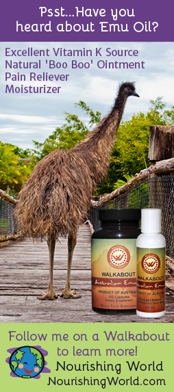 Psst... Have you heard about Emu Oil? Follow me on a Walkabout to learn more!