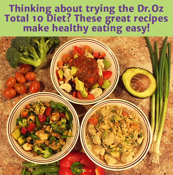 Dr. Oz's Total 10 Rapid Weight Loss Recipes | Nourishing World Blog