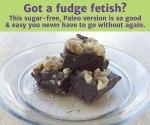 Raw Chocolate Walnut Fudge
