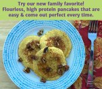 Golden Brown Gluten-Free Protein Pancakes