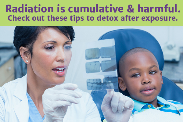 Radiation is cumulative & harmful. Check out these tips to detox after exposure.