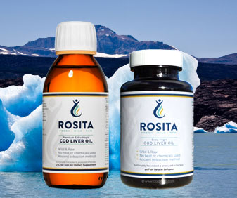 Rosita Extra Virgin Cod Liver Oil and Softgels come from the cool, clean waters up near Norway.