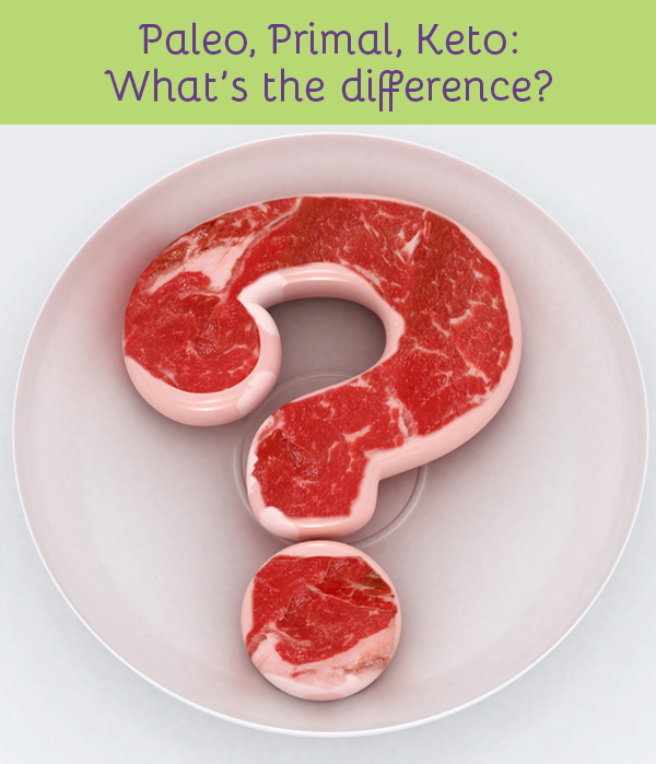 "Paleo, Primal, Keto: What""s the difference?"