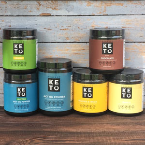 Perfect Keto makes a low carb MCT Oil Powder as well as a ketones base to help people get into ketosis fast and keep them there.