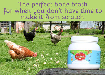 The perfect bone broth for when you don't have time to make it from scratch.