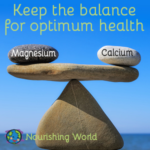 Keep the balance for optimum health.