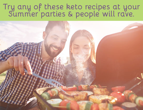 Try any of these keto recipes at your summer parties & people will rave.